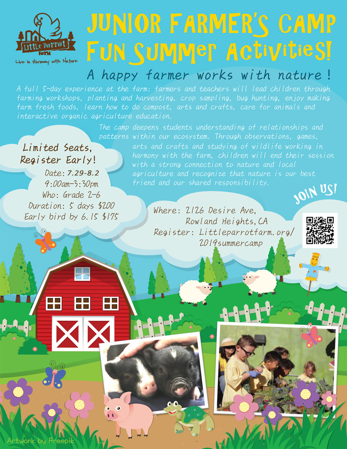 2019 Summer Camp Junior Farmer 0729-0802