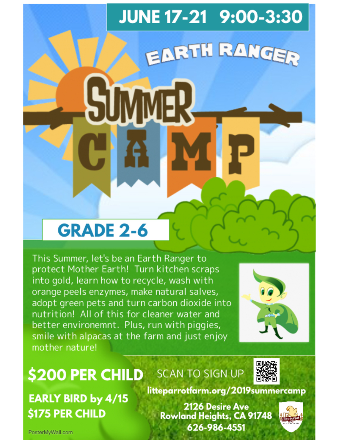 Summer Camp Earth Ranger