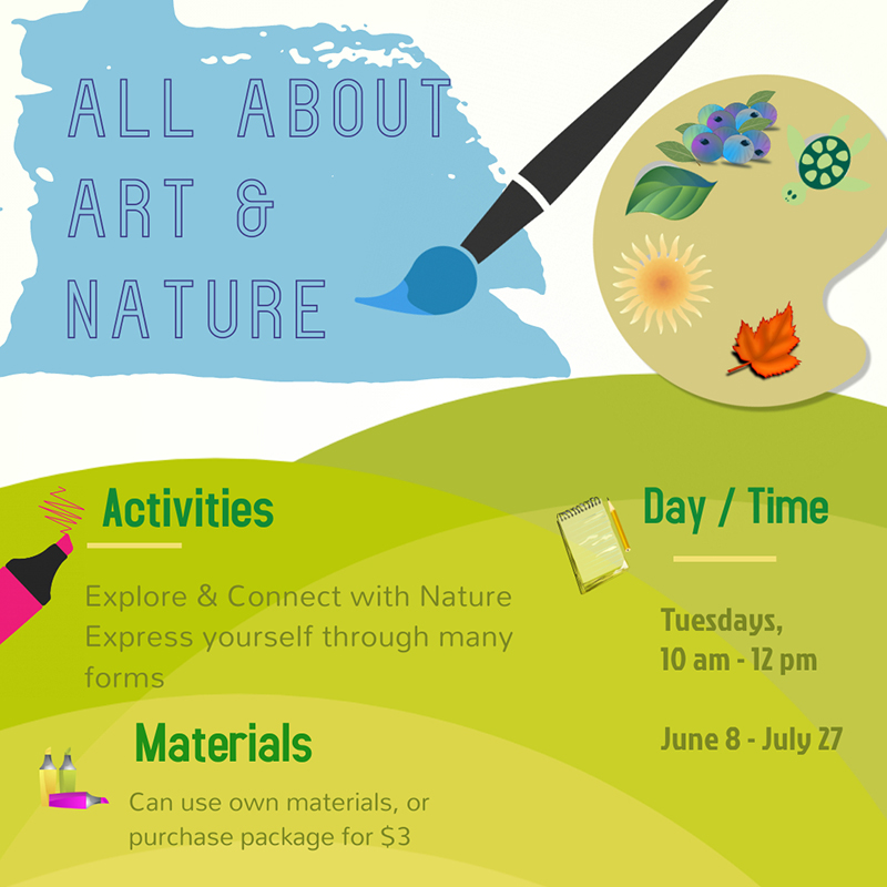 Summer Camp_All about Art & Nature_Tuesday 10am