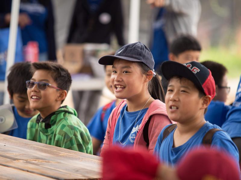 2019 Summer Camp - happy kids